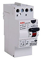 Interrupteur differentiel 30mA 25A type AC AEG