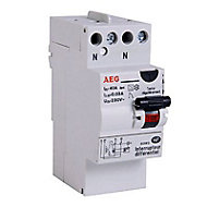 Interrupteur differentiel 30mA 40A type A AEG