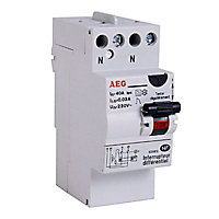 Interrupteur differentiel 30mA 40A type A AEG