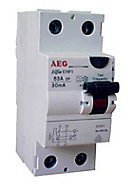 Interrupteur differentiel 30mA 63A de type AC AEG