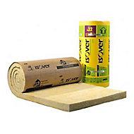 Isolant laine de verre GR32 Kraft - 2,7 x 1,2 m ép.160 mm R. 5m²K/W (vendu au rouleau)