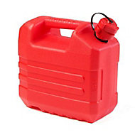 Jerrican Hydrocarbure Diall 10 L rouge