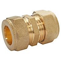 Jonction égal bicône à bague laiton pour tube cuivre Ø16