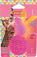 Jouet pour chat balle colorée