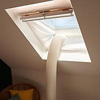 Kit accessoire climatiseur pour calfeutrage de fenêtre de toit GoodHome