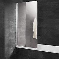Kit à coller pour pare-baignoire, aspect chromé