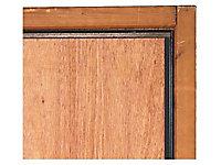 Kit cornière anti-pince 3 pieces - acier époxy marron