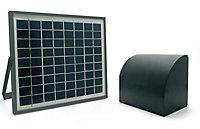 Kit d'alimentation solaire Avidsen 12 V pour motorisation Avidsen