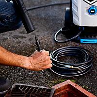 Kit débouche canalisation 8 m pour nettoyeur haute pression Mac Allister