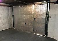 Kit d'isolation pour porte de garage 6 m² Diall