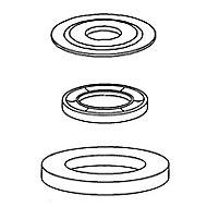 Kit de joints pour rénovation mécanisme tirage Siamp