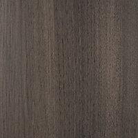 Kit dressing Qazar effet chêne grisé H. 200 x L. 220 x P. 48 cm