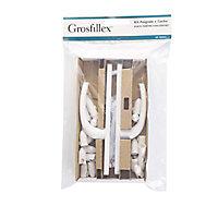 Kit poignée Grosfillex Exaconfort porte fenêtre 2 vantaux