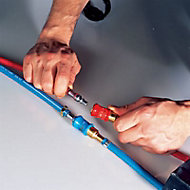 Kit raccords Rapides tuyaux OX/AD ø6,3 mm Weldteam