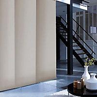 Kit rail et panneau japonais Madeco taupe 220 x 250 cm
