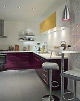 Kit socle fileur aubergine Cooke & Lewis Gossip