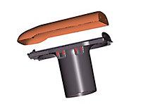 Kit ventilation passive ø110 brun durovent