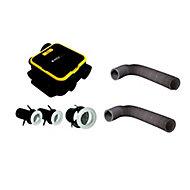 Kit VMC simple flux automatique EasyHome compact + 2 gaines 6m ø80mm et 1 gaine 6 m x ø125mm offertes