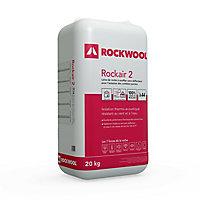 Laine de roche en vrac Rockwool Rockair 2 20kg (vendu au sachet)