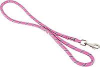Laisse nylon corde 13mm L.1,20 m rose
