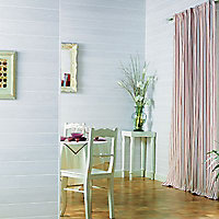 Lambris PVC Country bois blanc (vendu à la botte)