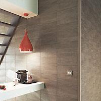 Lambris PVC Element tile S taupe (vendu à la botte)