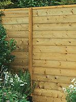 Lame de clôture bois Blooma Lemhi 240 x 15 cm