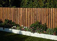 Lame de clôture Lemhi marron 180 x 7 cm