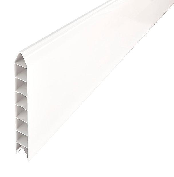 Lame De Clôture Pvc Emboîtable L 180 X H 20 Cm Ep 30 Mm Castorama