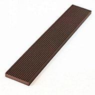 Lame de finition pour bardage Greenwall chocolat L.2,2 m