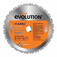 Lame de scie circulaire multimatériaux Evolution ø210x25.4mm 20 dents