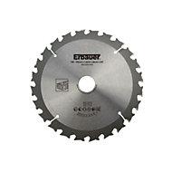 Lame de scie circulaire pour le bois Débit Erbauer ø165x20/16 mm