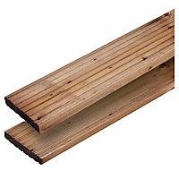 Lame de terrasse en bois Gaiffe 21 x 120 x 240 cm