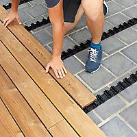 Lame de terrasse pin Areto L.200 x l.11,8 cm