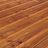 Lame de terrasse pin marron Lemhi L.360 x l.14,4 cm