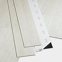 Lame PVC adhésive blanc Poprock 15 x 91cm (vendue au carton)