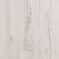 Lame PVC adhésive Gerflor Senso Rustic White Pécan 15,2 x 91,4 cm (vendue au carton)