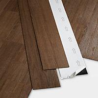 Lame PVC adhésive marron Poprock 15 x 91cm (vendue au carton)