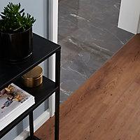 Lame PVC clipsable chêne rustique Jazy 18 x 122cm (vendue au carton)