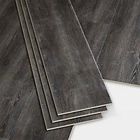 Lame PVC clipsable gris foncé Jazy 22 x 122cm (vendue au carton)