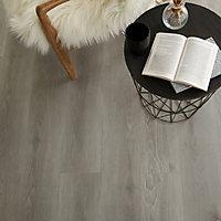 Lame PVC clipsable gris Jazy 18 x 122cm gris (vendue au carton)