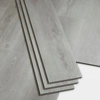Lame PVC clipsable gris Jazy 18 x 122cm (vendue au carton)