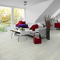 Lame PVC clipsable Tarkett Starfloor Click Wash Snow 18,3 x 122 (vendue au carton)