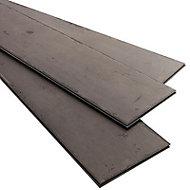 Lame PVC clipsable Tenji gris foncé 122 x 18 cm (vendue au carton)