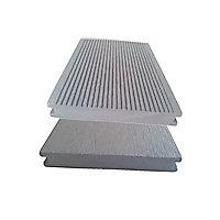 Lame terrasse composite Greendeck WPC PLEINE gris clair L.260 x l.14 cm