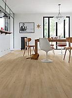 Lame vinyle Senso Rustic BD Oak Pine décor bois naturel l. 15,2 x L. 91,4 cm, Ep. 2 mm(vendue au carton)