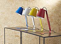 Lampe de bureau Colours Clover bleu mat