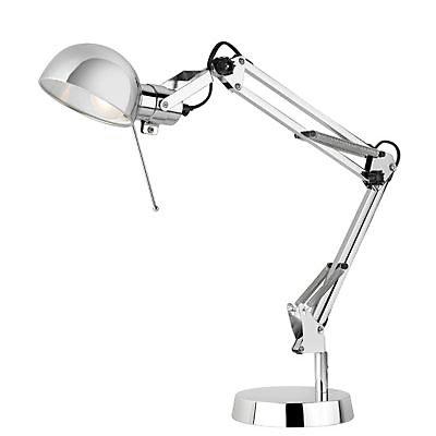 Lampe De Bureau Colours Tutti Chrome Castorama