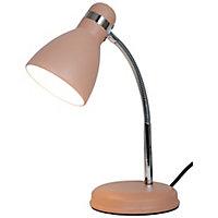 Lampe de bureau Naraji E27 IP20 rose