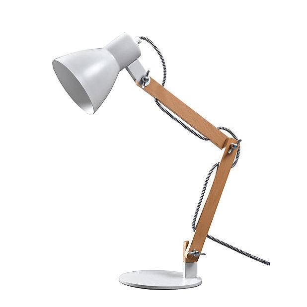Lampe De Bureau Peroten E27 Ip20 Castorama
